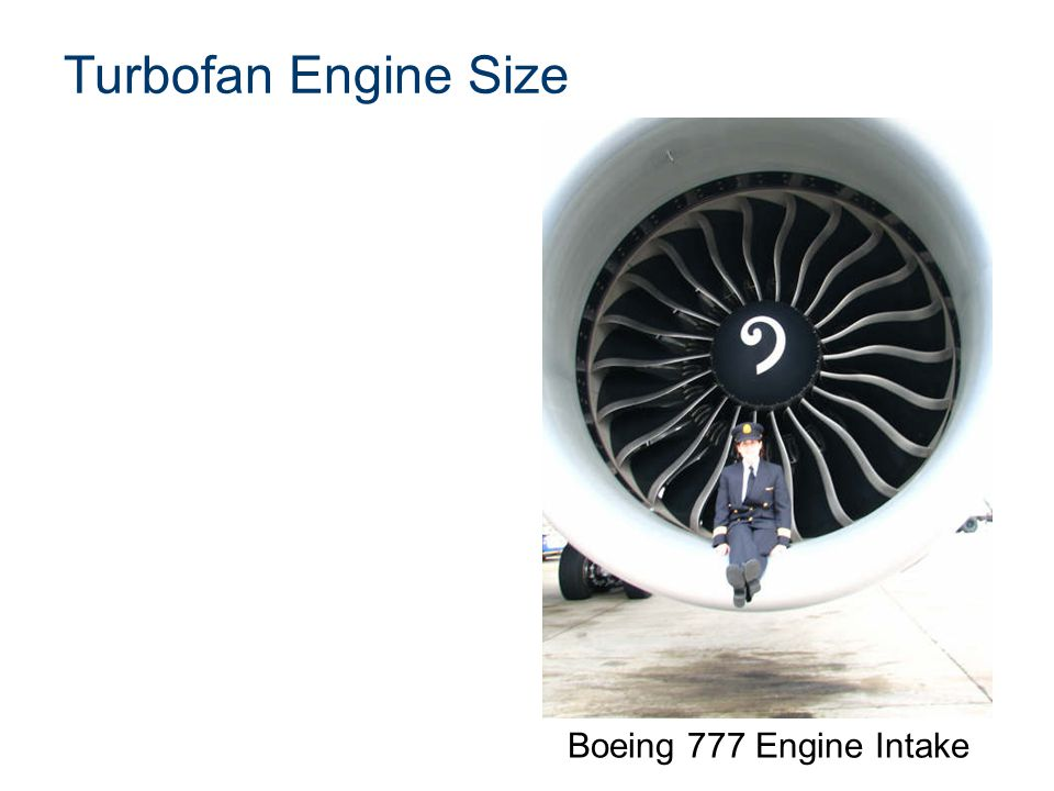 Turbofan Engine Size Boeing 777 Engine Intake Presentation Name
