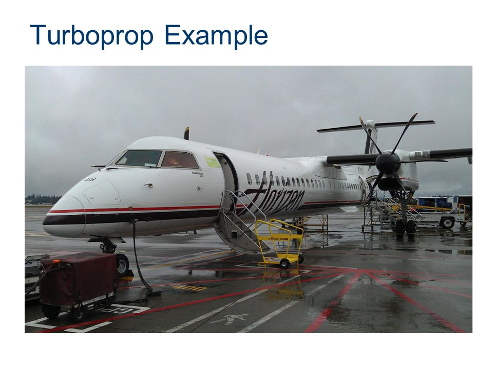 Turboprop Example Presentation Name Course Name