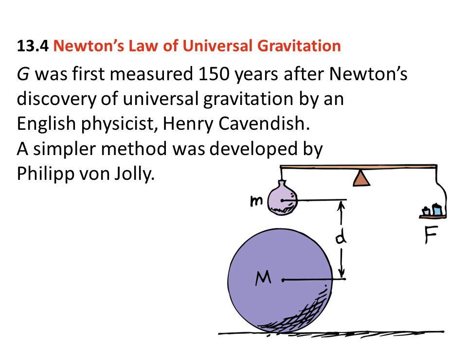 A simpler method was developed by Philipp von Jolly.