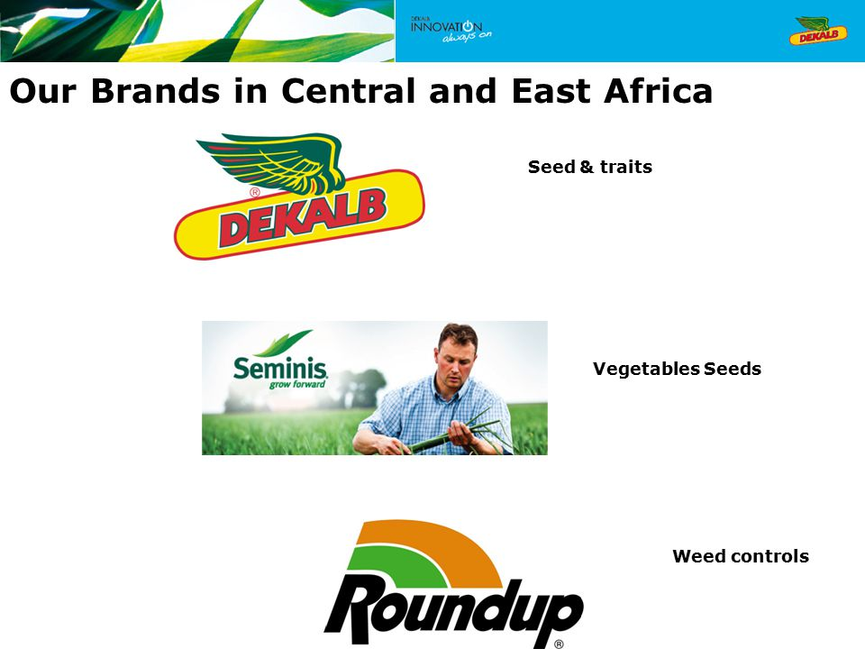 Our Brands in Central and East Africa