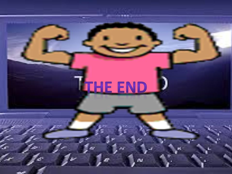 The End. The end