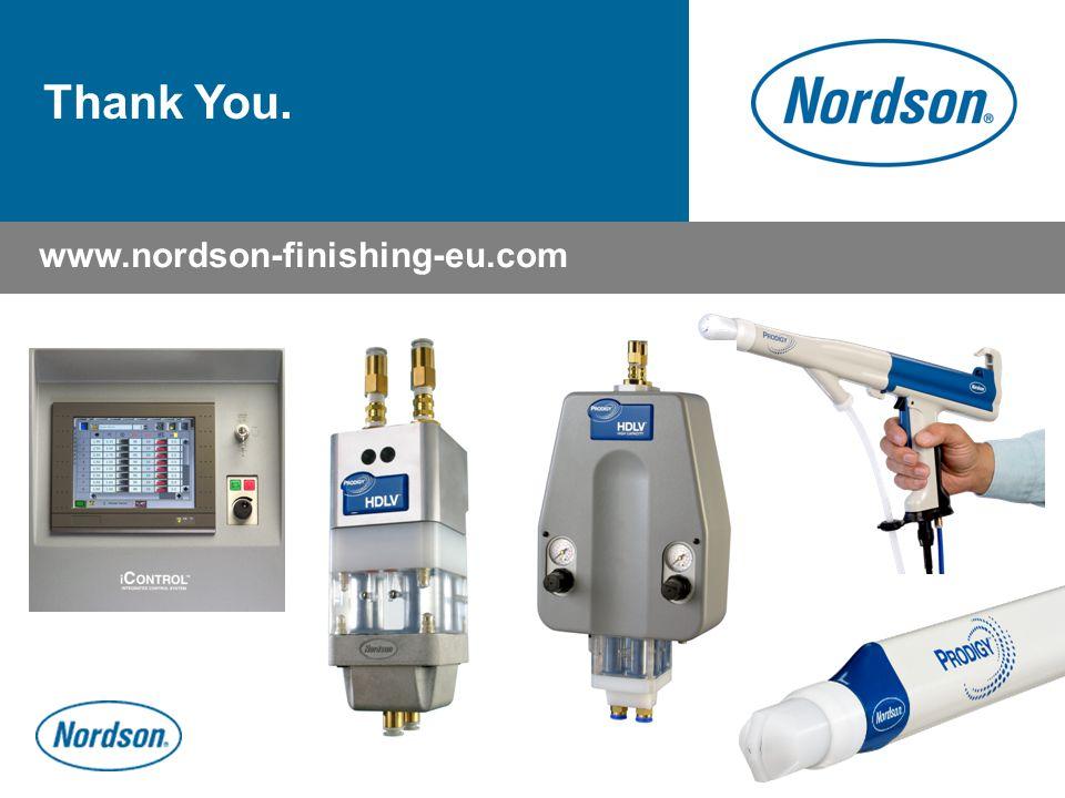 Thank You. www.nordson-finishing-eu.com