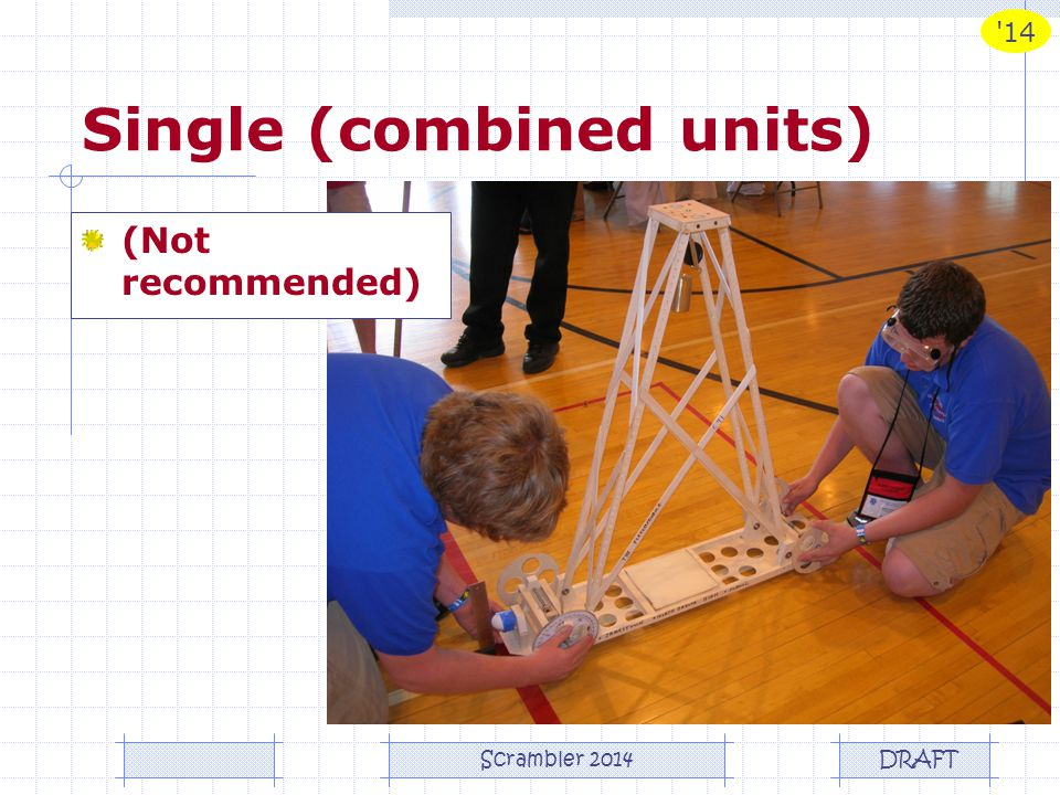 Single (combined units)