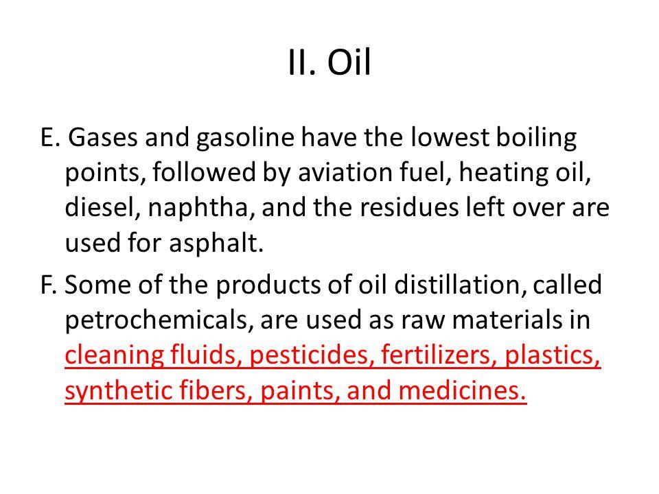II. Oil