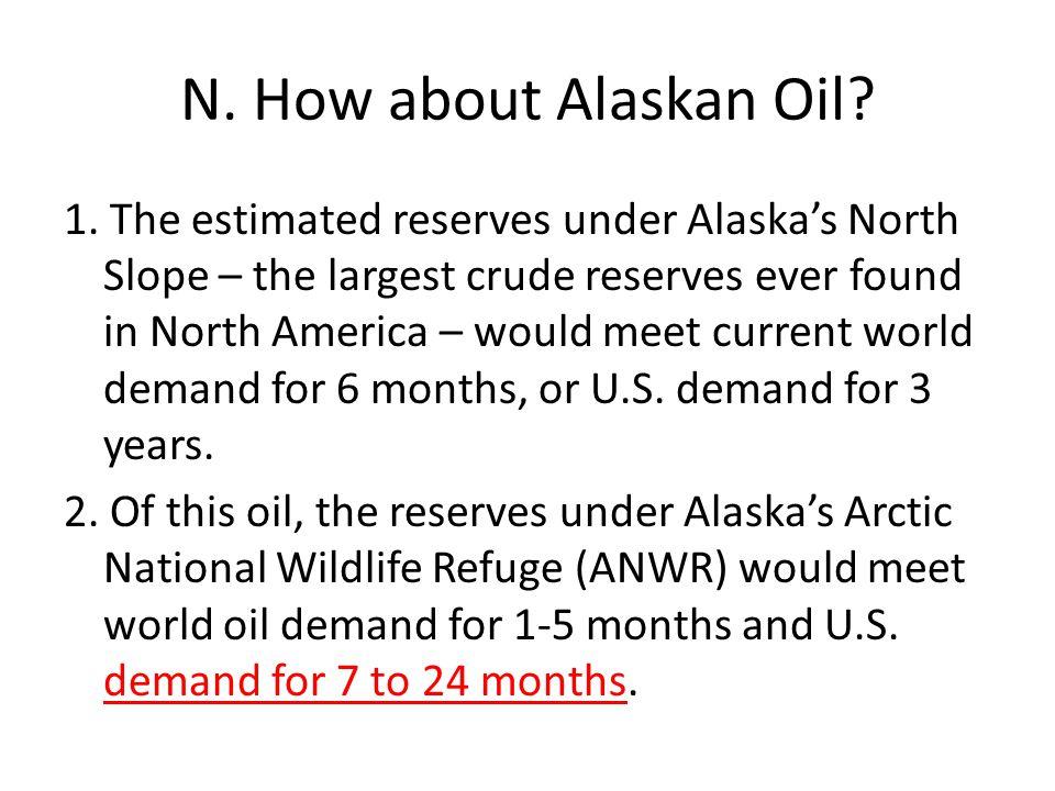 N. How about Alaskan Oil