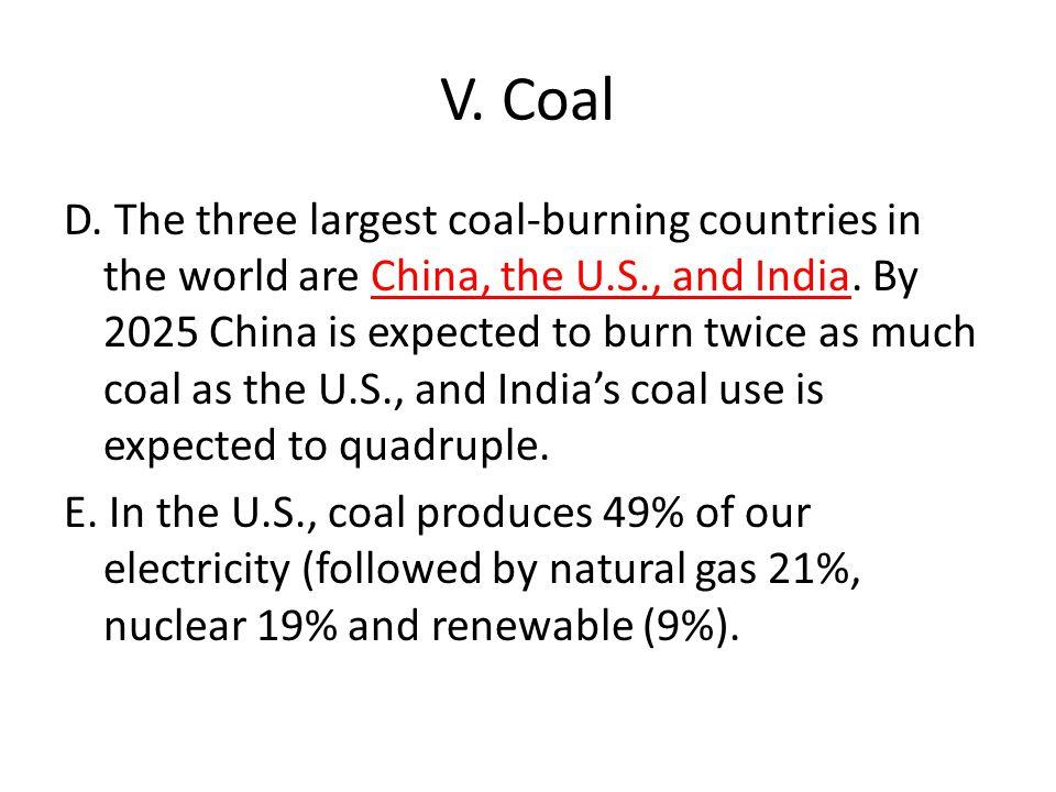 V. Coal