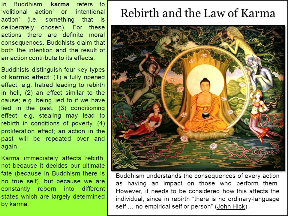 Rebirth and the Law of Karma