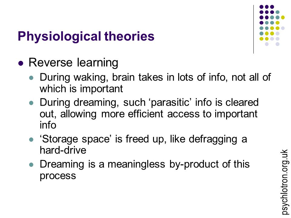 Physiological theories