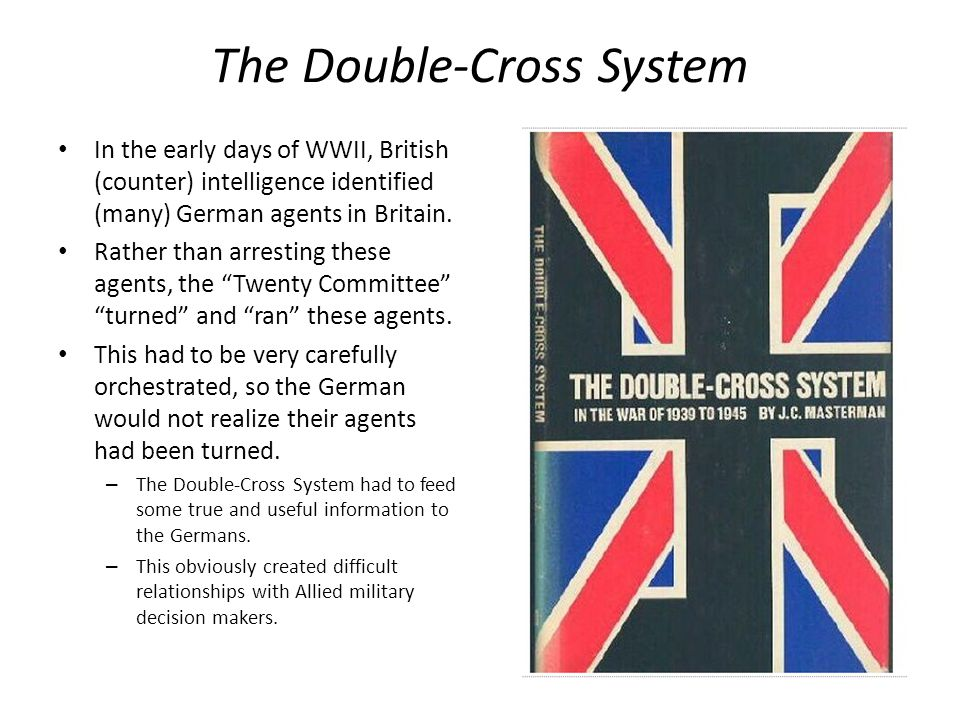 The Double-Cross System