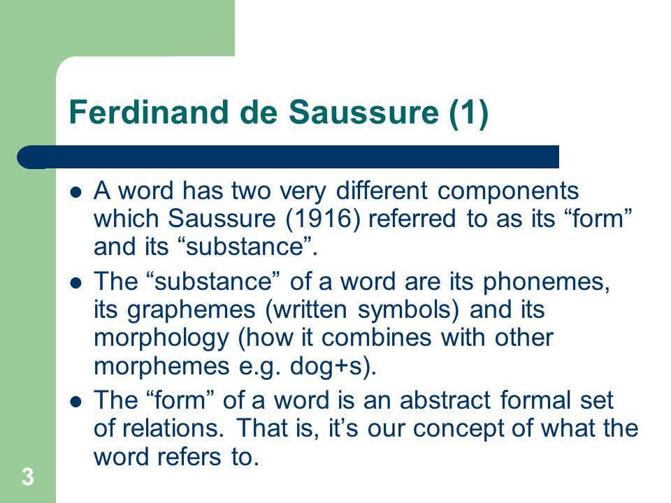 Ferdinand de Saussure (1)