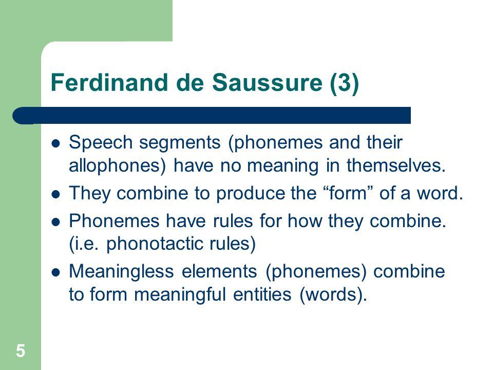 Ferdinand de Saussure (3)
