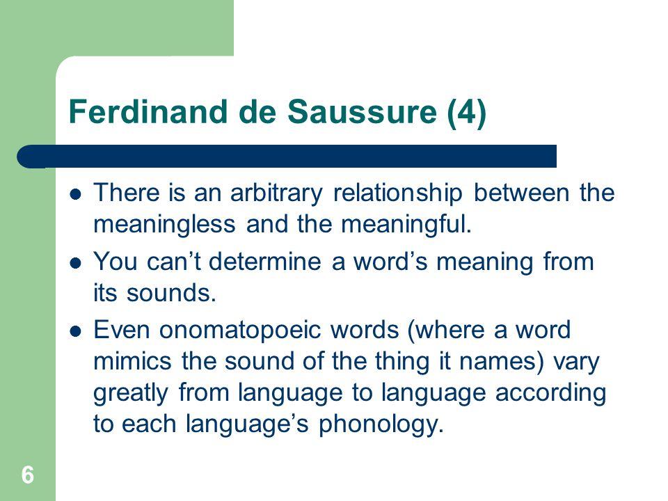 Ferdinand de Saussure (4)