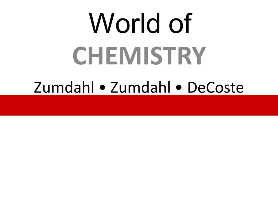 Zumdahl • Zumdahl • DeCoste