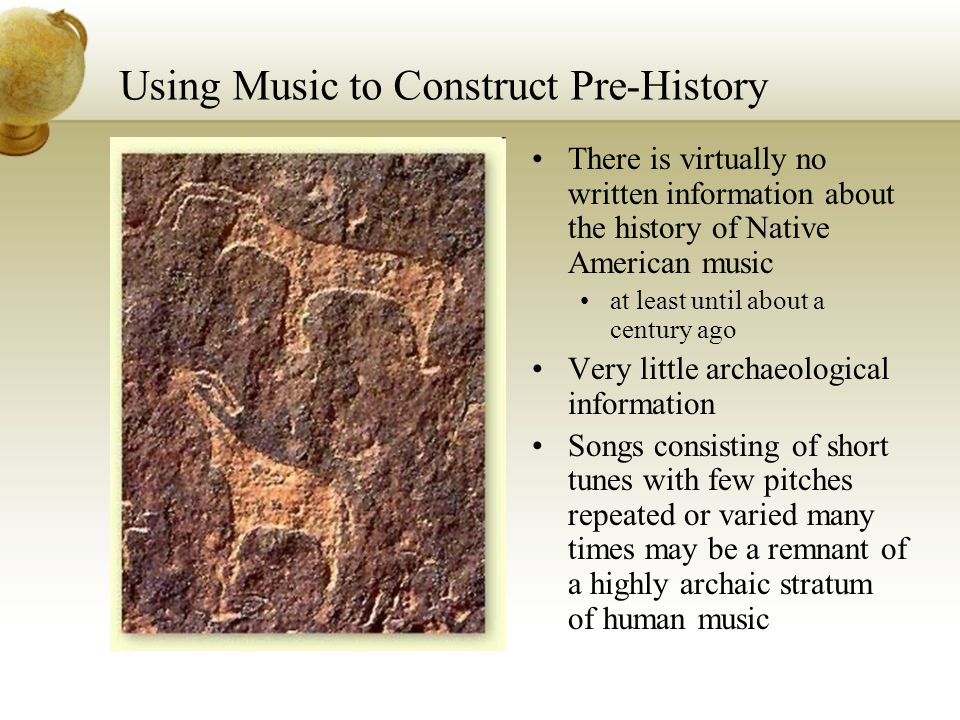 Using Music to Construct Pre-History