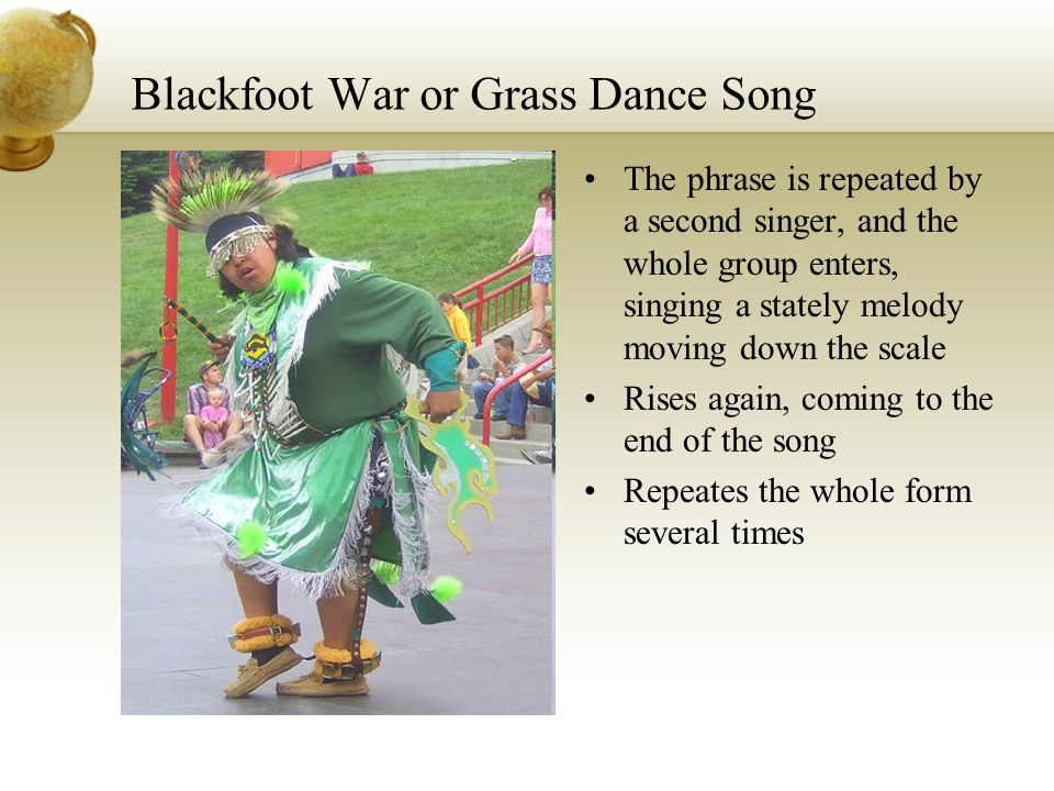 Blackfoot War or Grass Dance Song