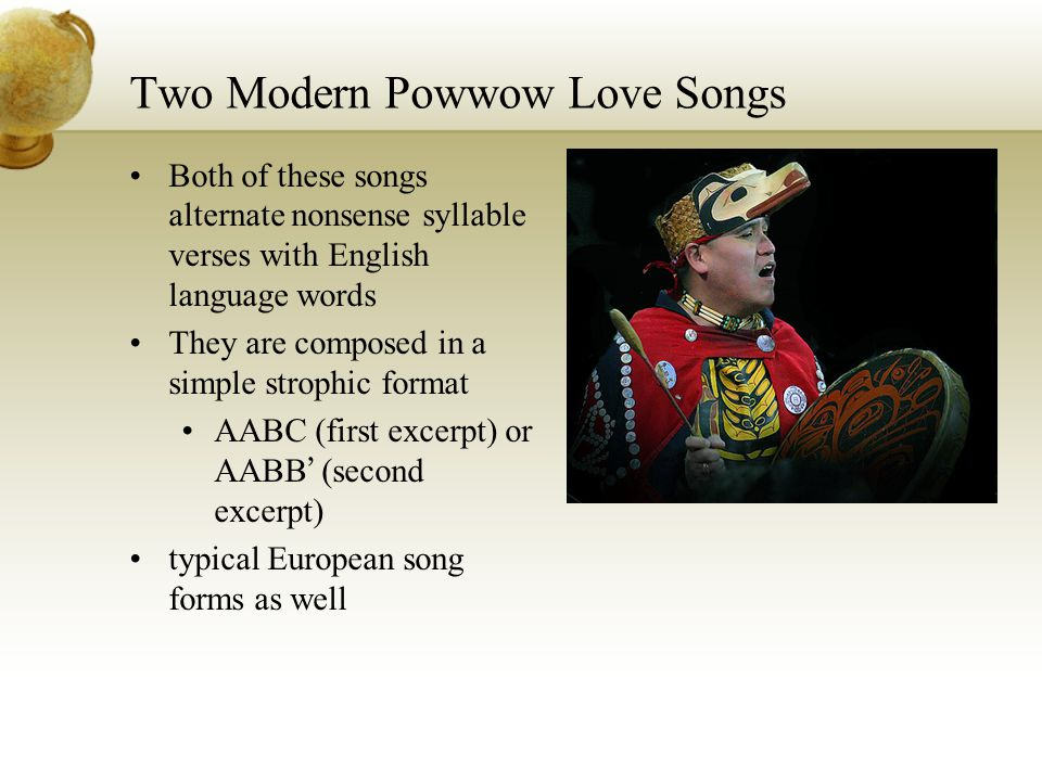 Two Modern Powwow Love Songs
