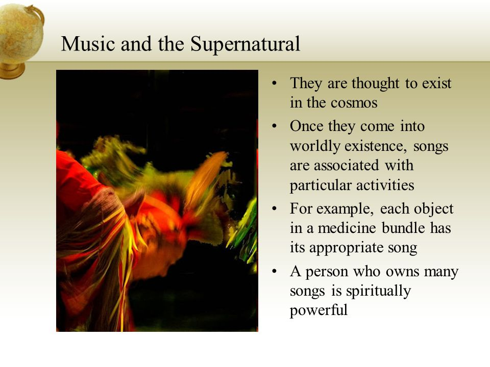 Music and the Supernatural