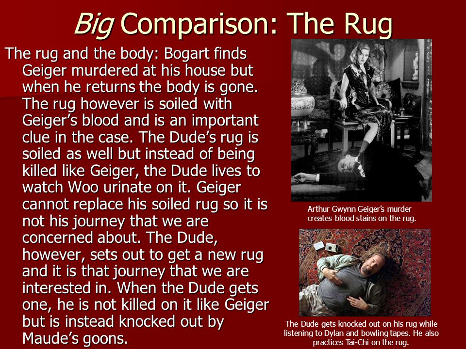 Big Comparison: The Rug