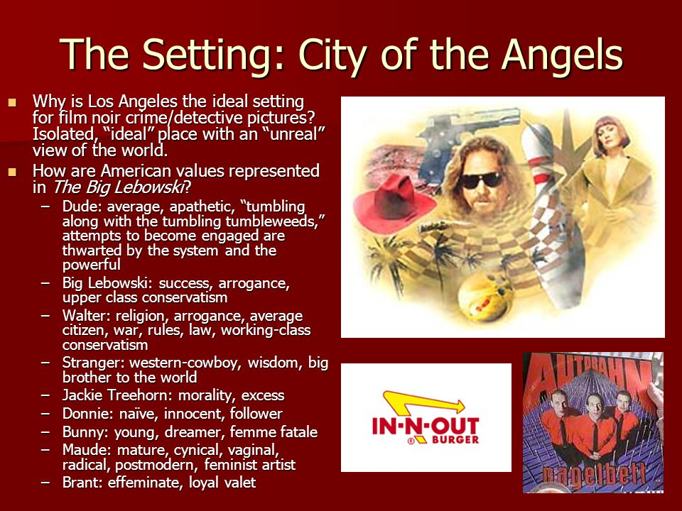 The Setting: City of the Angels