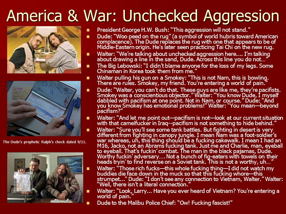 America & War: Unchecked Aggression