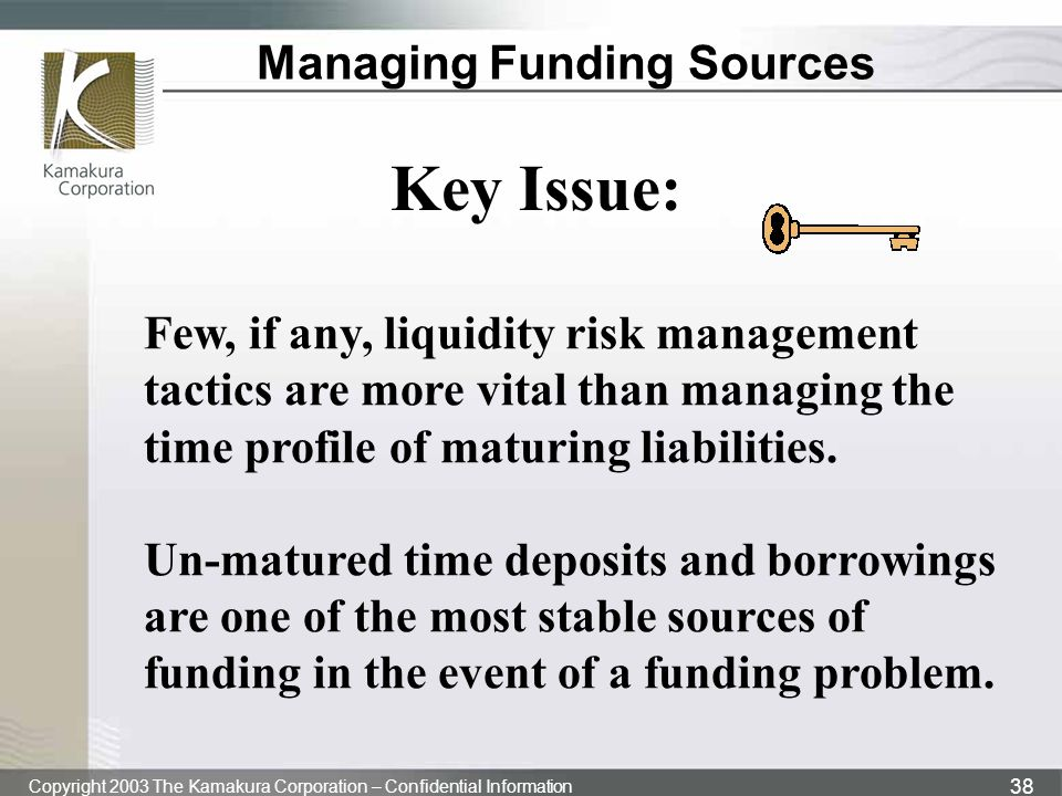 Managing Funding Sources