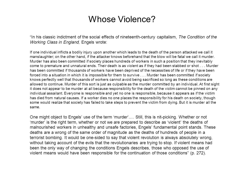 Whose Violence