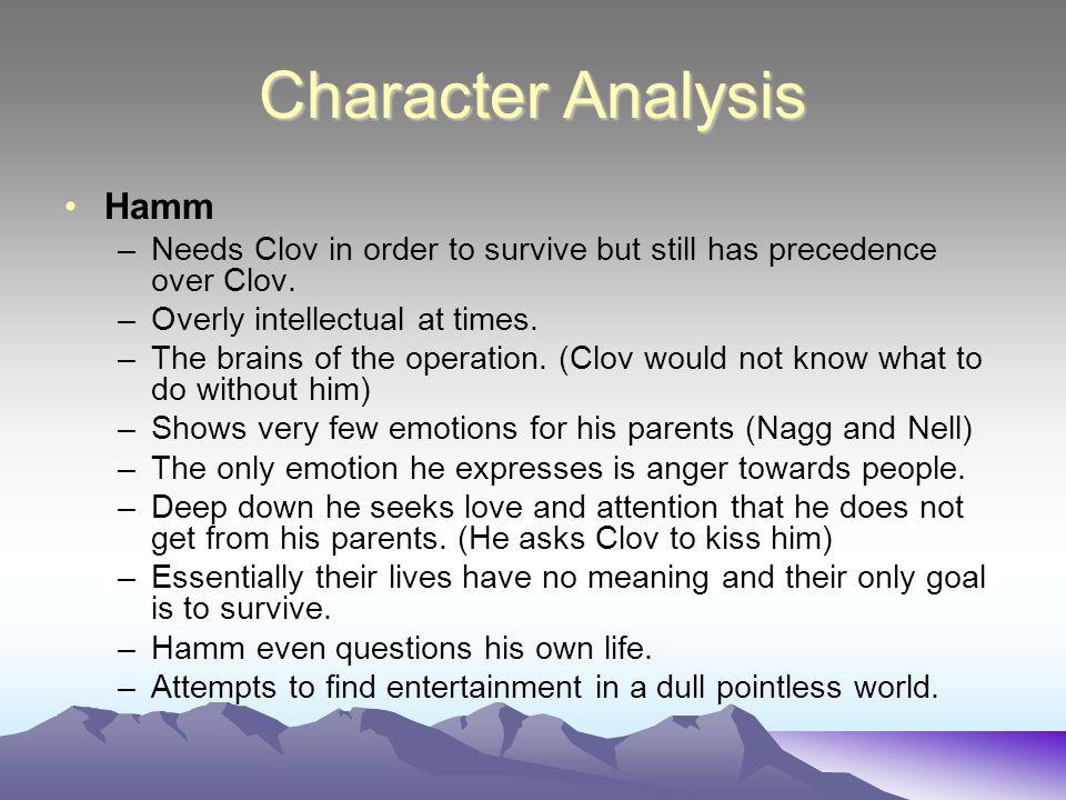 Character Analysis Hamm