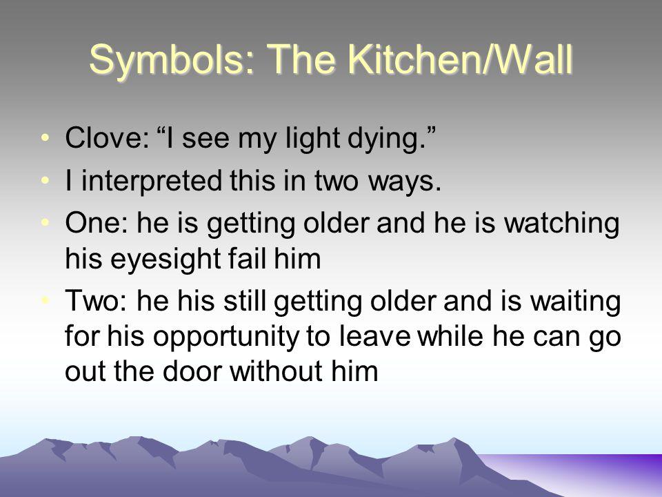 Symbols: The Kitchen/Wall