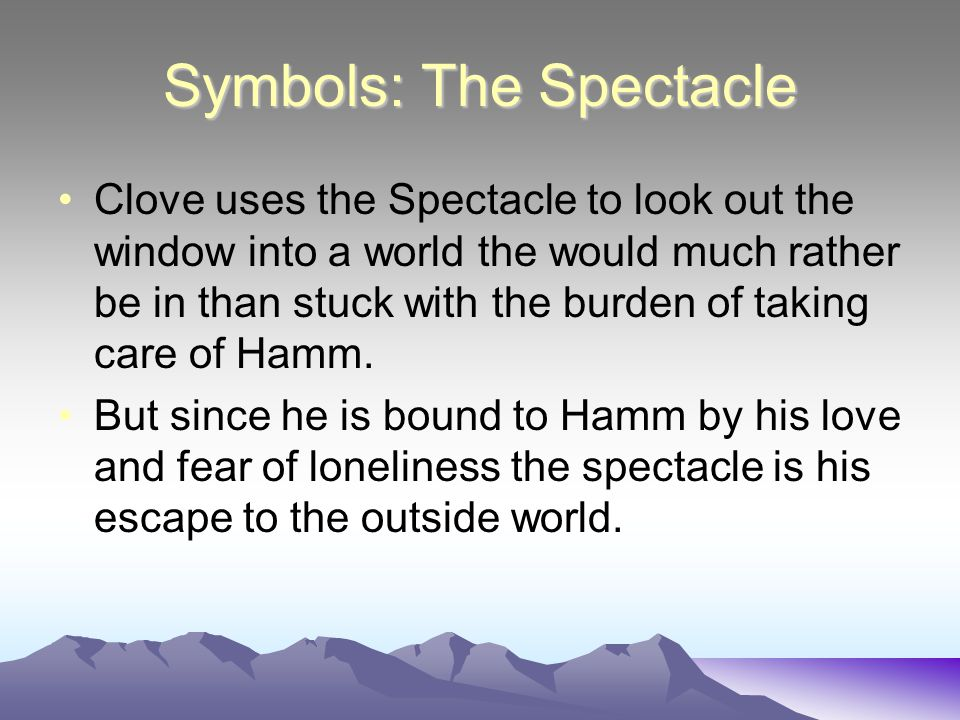 Symbols: The Spectacle