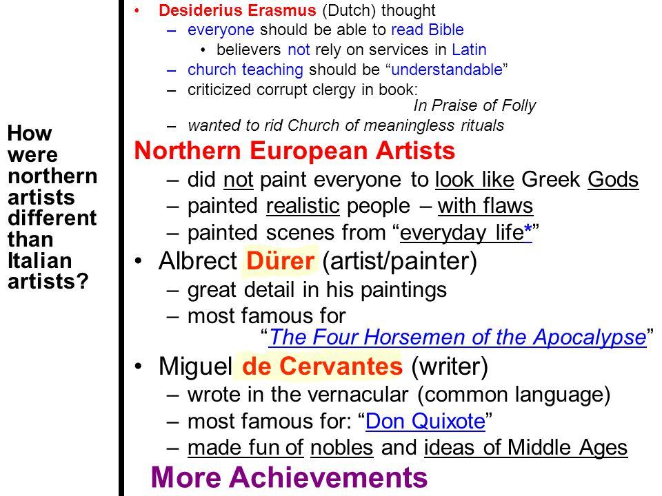 More Achievements Northern European Artists