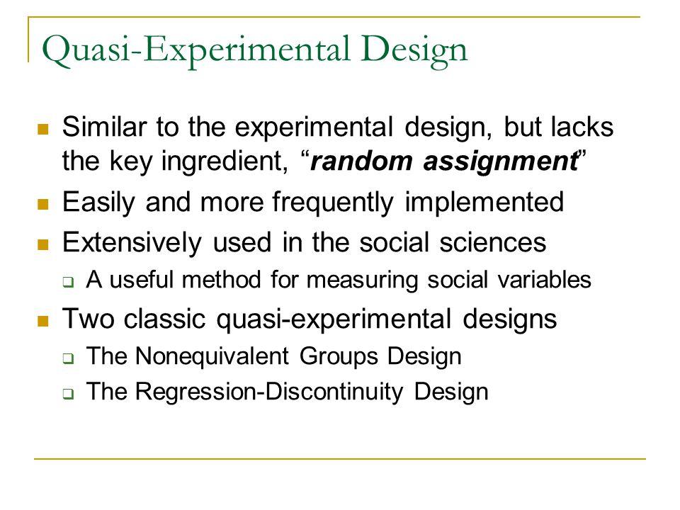 types of quasi experimental design pdf
