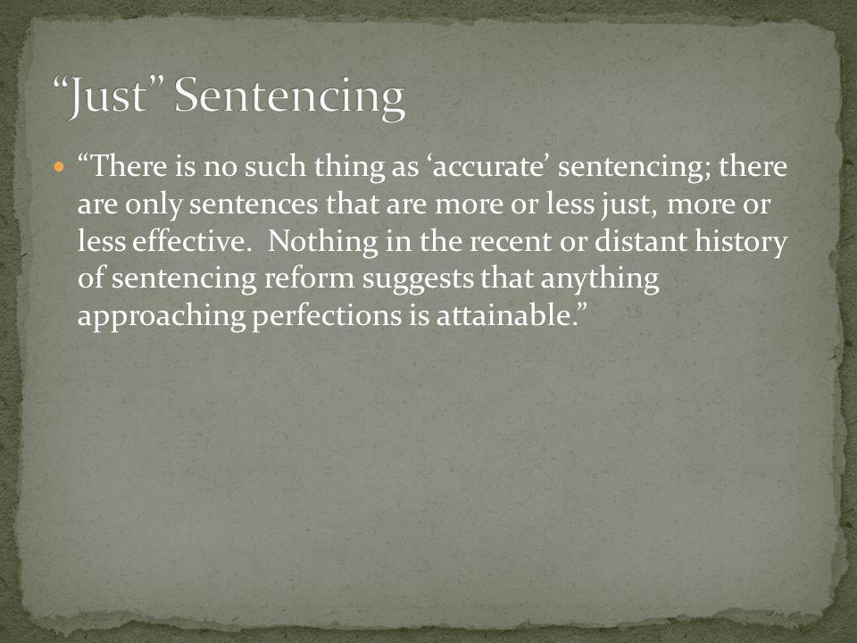 Just Sentencing