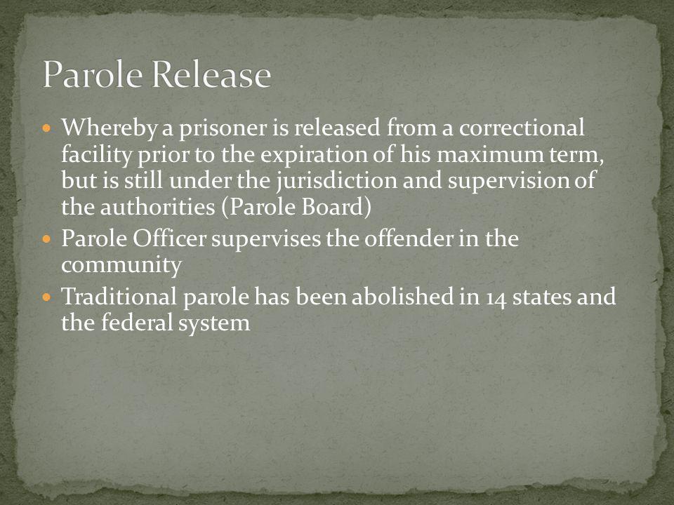 Parole Release