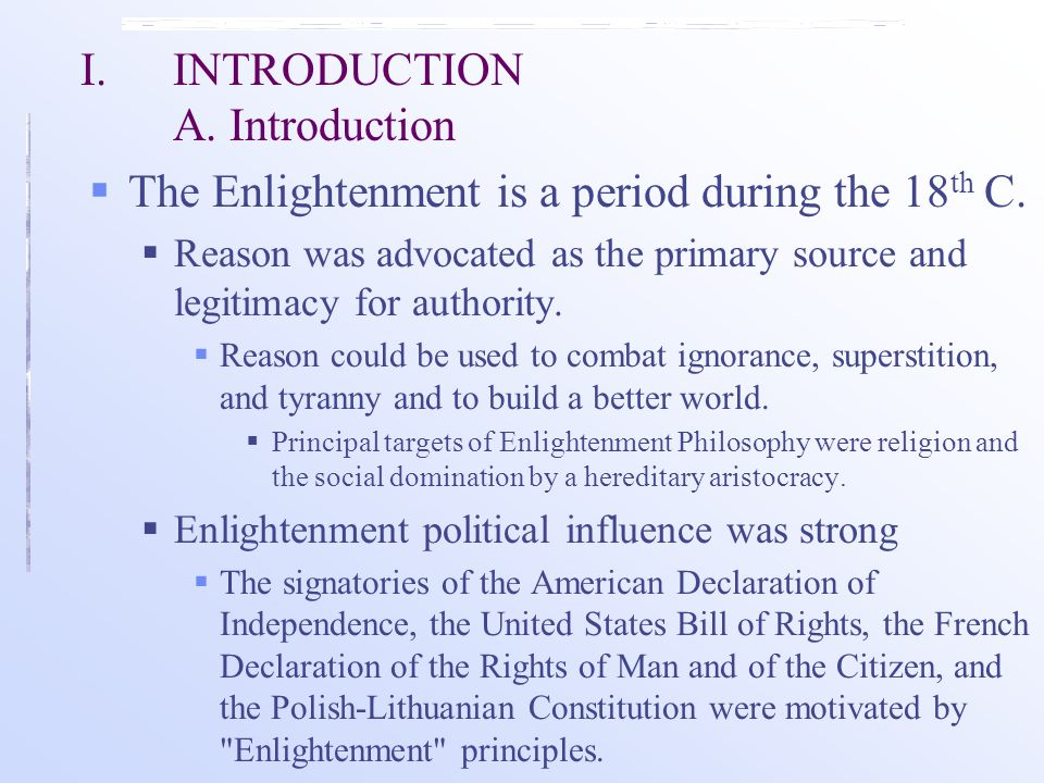 I. INTRODUCTION A. Introduction