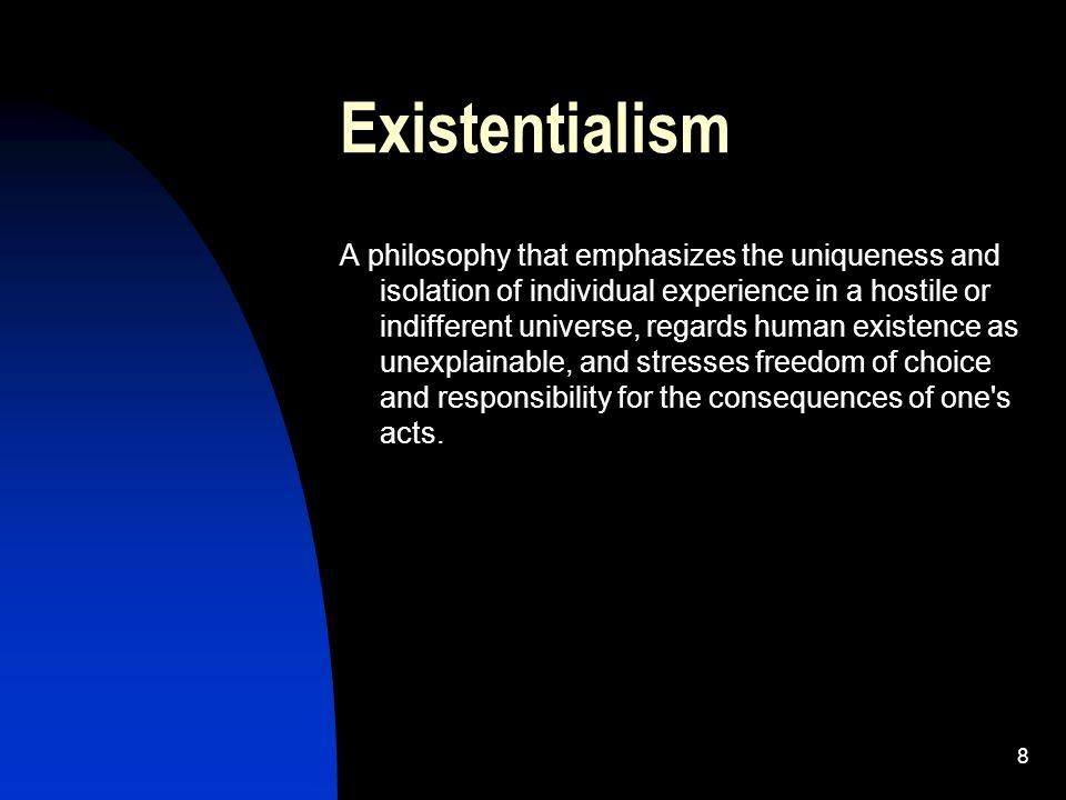 Existentialist freedom
