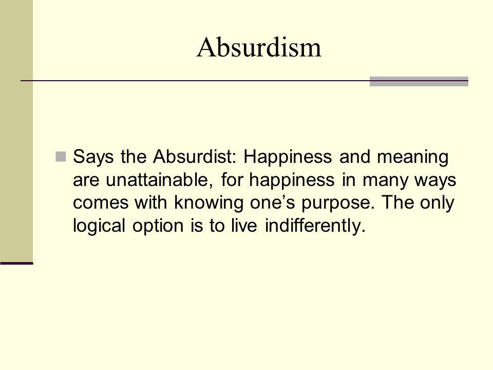 Absurdism