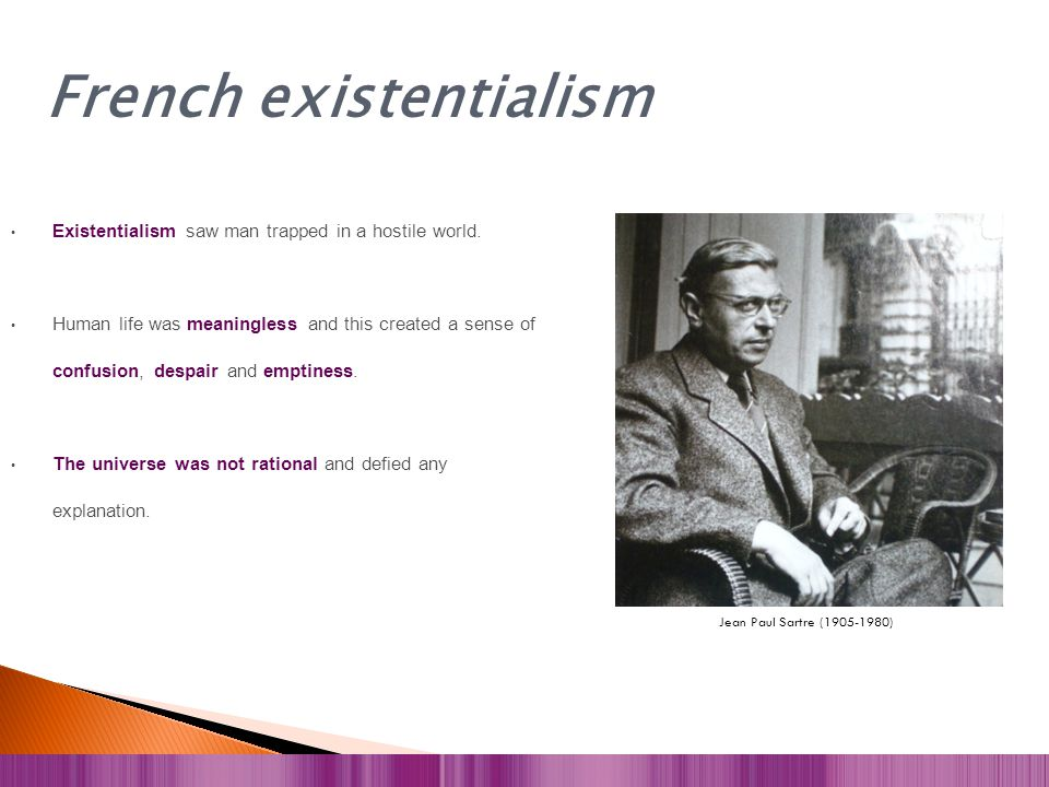 French existentialism