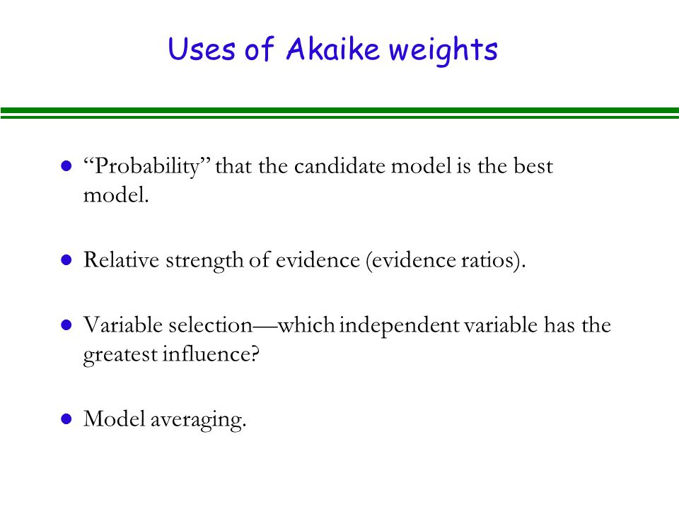 Lecture 6B - Model Selection