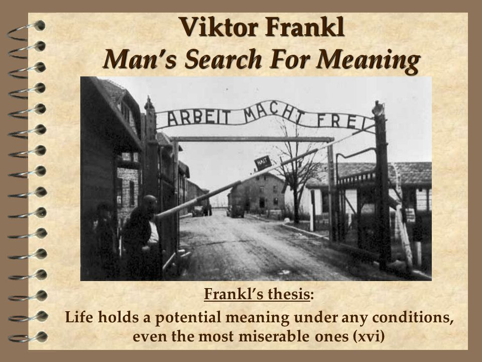 Man's Search for Meaning by Viktor E. Frankl [pdf] - YouTube