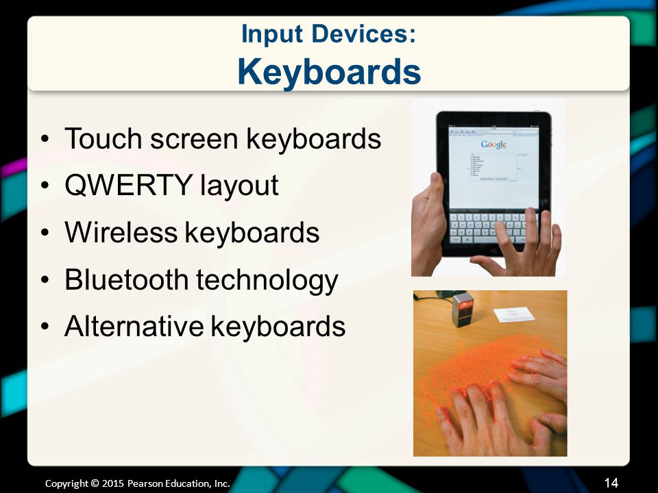 Input Devices: Mice and Other Pointing Devices