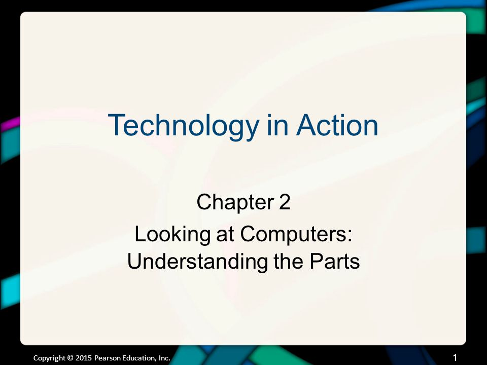 Chapter Topics Four basic functions of the Information Processing Cycle. Understanding Your Computer.