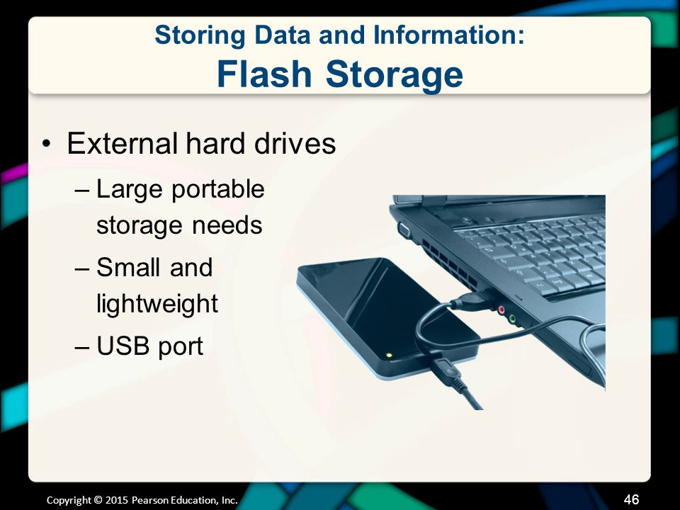 Storing Data and Information: Flash Storage