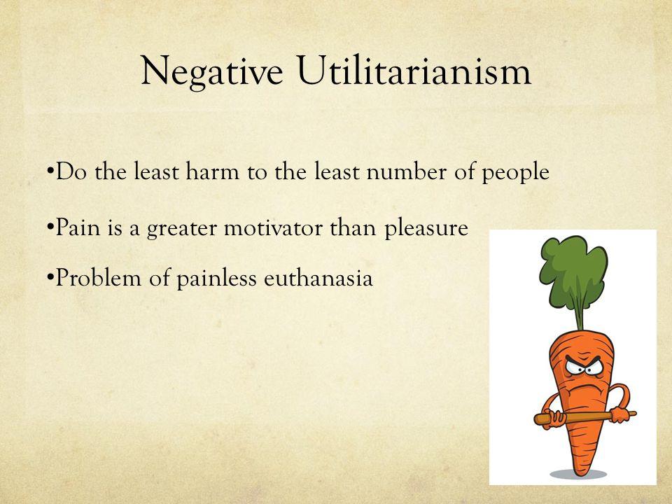 Negative Utilitarianism