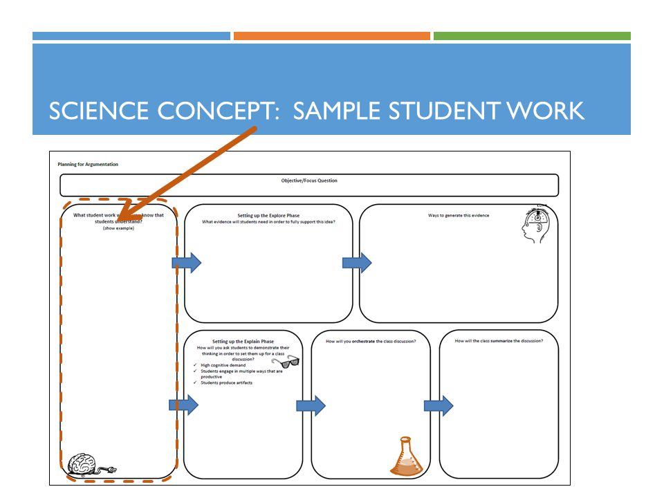Science Concept: Sample Student Work