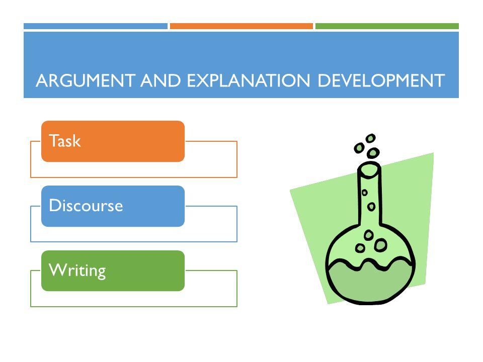 Argument and Explanation Development