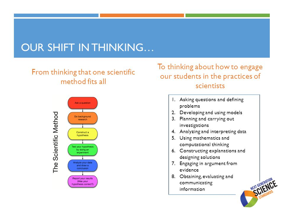 From thinking that one scientific method fits all