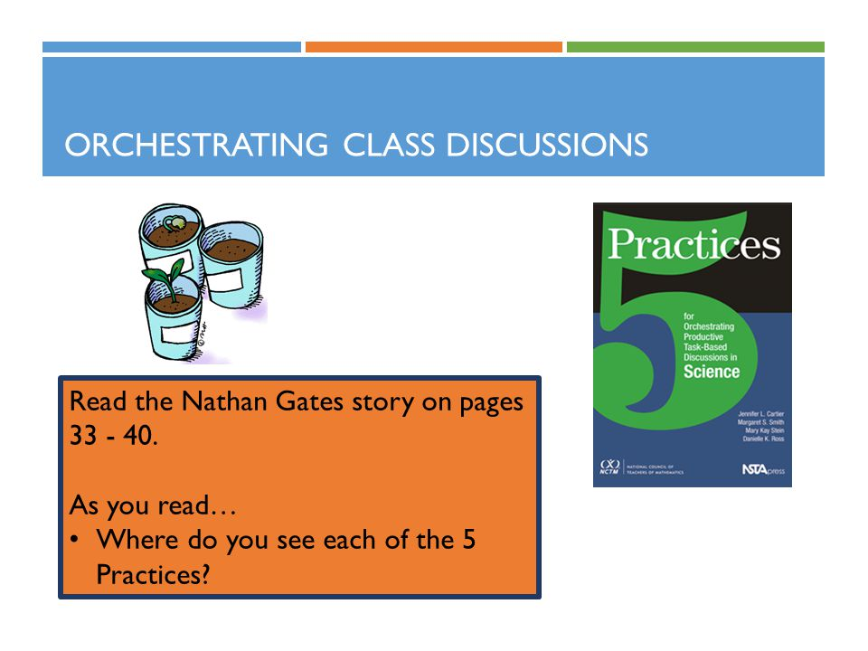 Orchestrating Class Discussions