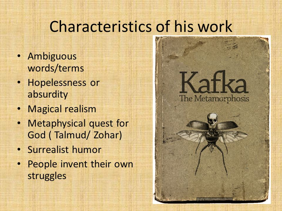 Characteristics of his work
