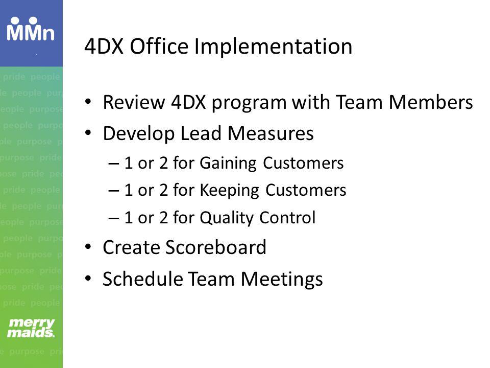 4DX Office Implementation