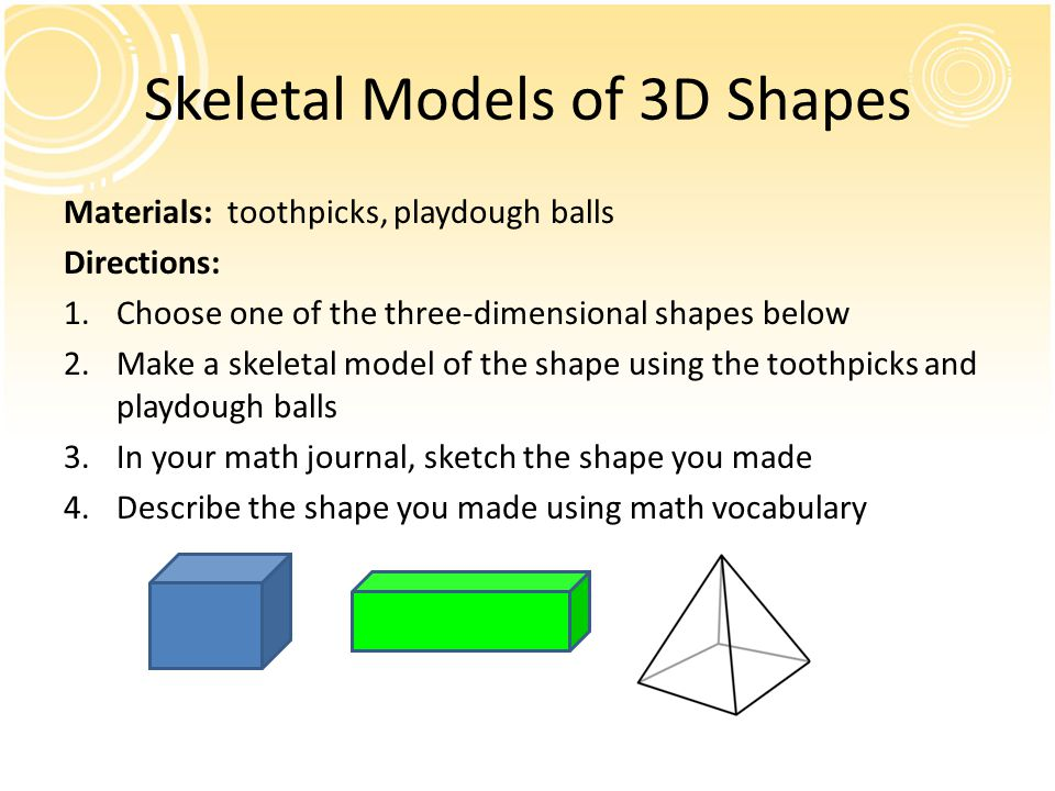 Skeletal Models of 3D Shapes